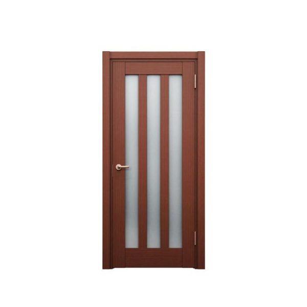China WDMA Shandong Factory Wood Jali Door Designs For Homeuse