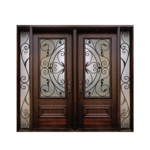 WDMA wrought iron folding gates doors wrought iron