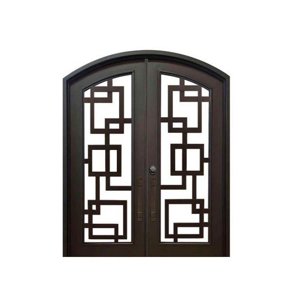 China WDMA wrought iron folding gates