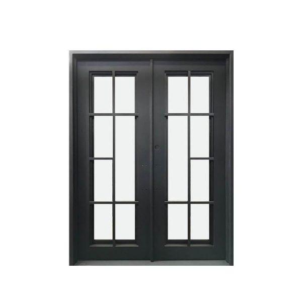 China WDMA wrought iron folding gates doors wrought iron