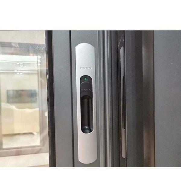 WDMA Shandong Price Of Double Glazed Aluminium Alloy Door And Window Design For Dubai