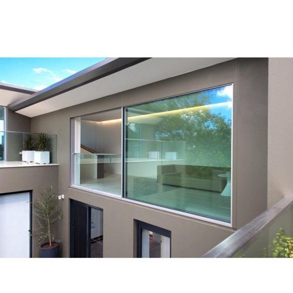 China WDMA Shandong Price Of Double Glazed Aluminium Alloy Door And Window Design For Dubai