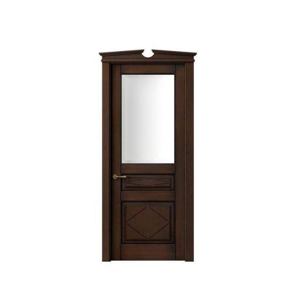 China WDMA Simple Design Flush Wooden Door Price In Shandong China