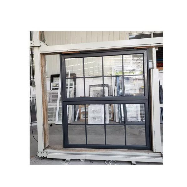 WDMA Simple Modern Retractable Silver Or White Standard Slide Folding Hinged Aluminium Window And Door Grill Design Picture