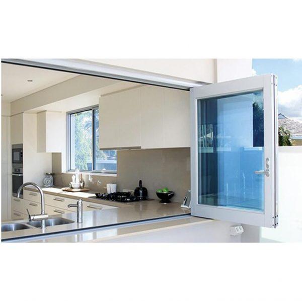 China WDMA retractable window Aluminum Folding Window