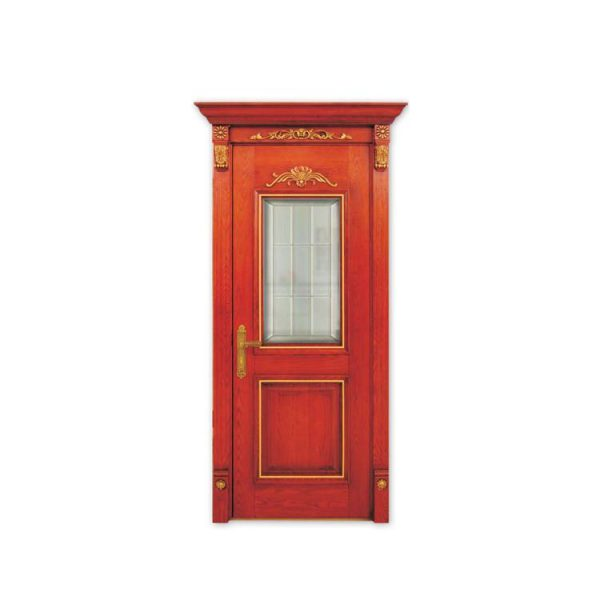 China WDMA Solid Wood Front Door With Production Linemodel