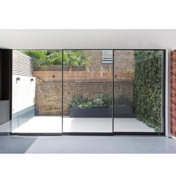 WDMA soft closing sliding door Aluminum Sliding Doors