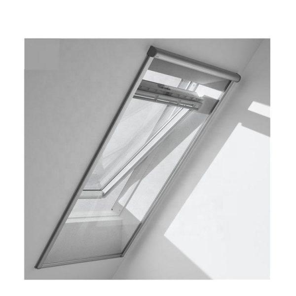 WDMA Sound Proof Thermal Break Aluminum Sky Light Sliding Window Roof Double Glazed
