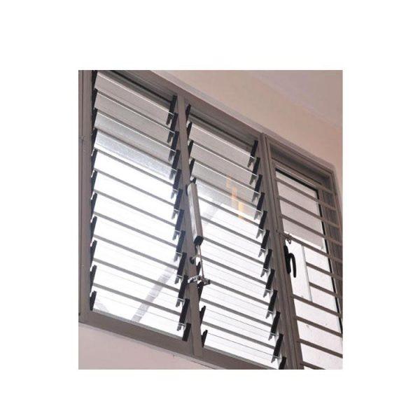 China WDMA Jalousie Glass Window