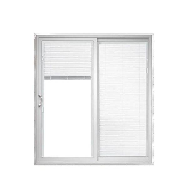WDMA Soundproof Interior Synchronized Telescopic Waterproof Terrace Sliding Glass Door Room Dividers Design