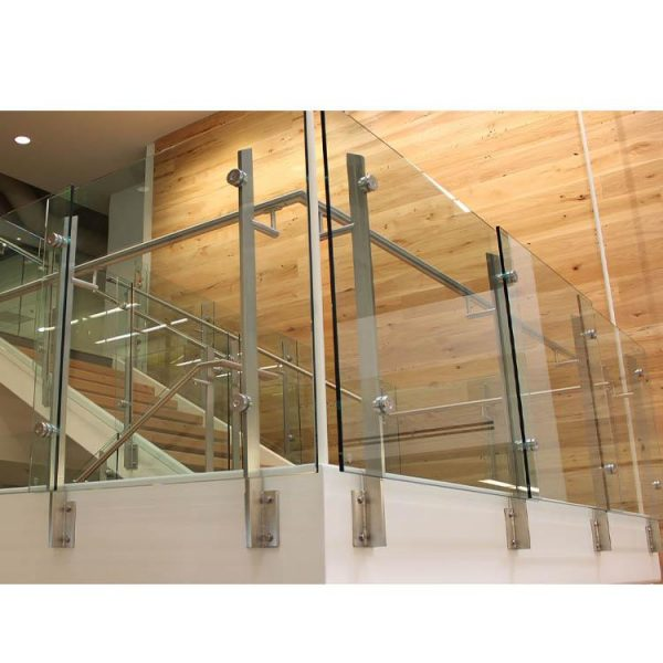 WDMA stainless steel tubular handrail for stair Balustrades Handrails
