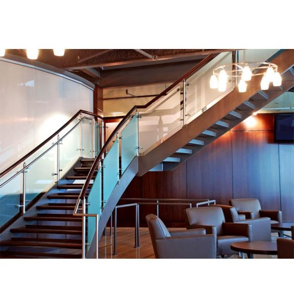China WDMA stainless steel tubular handrail for stair