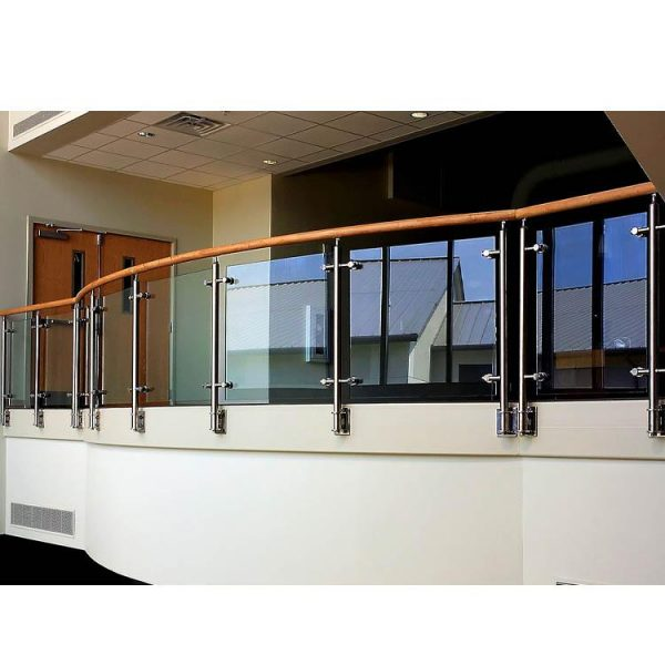 China WDMA stainless steel tubular handrail for stair Balustrades Handrails
