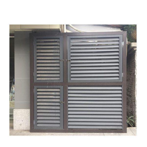 China WDMA standard jalousie window sizes Aluminum louver Window