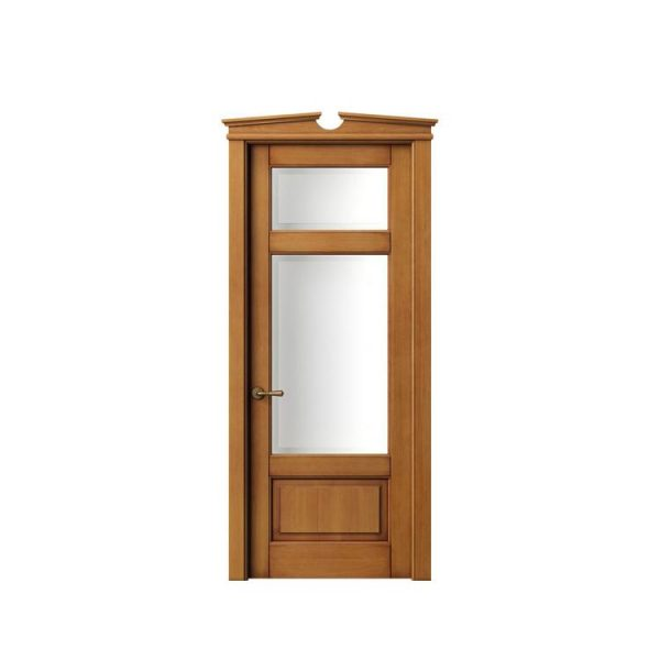 China WDMA Teak Wood French Door Main Double Door Designs Catalogue