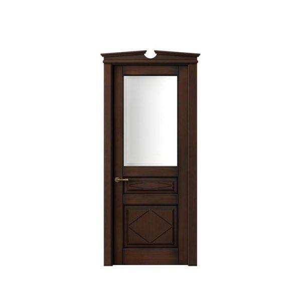 China WDMA Teak wood door
