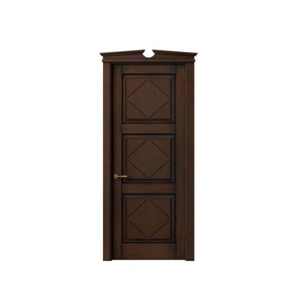 China WDMA Teak wood door Wooden doors