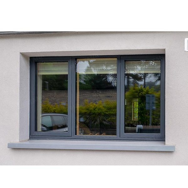 WDMA Tempered Glass Alluminum Alloy Casement Window