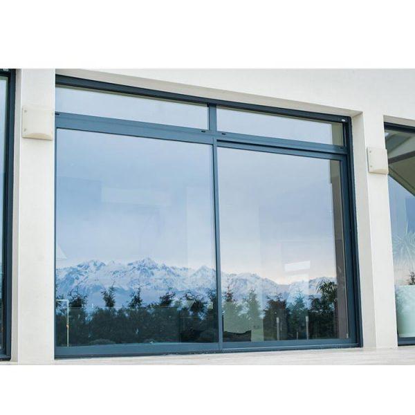 WDMA Triple Tracks Double Glazed Aluminum Sliding Window Price Philippines For Window And Door Of Sale