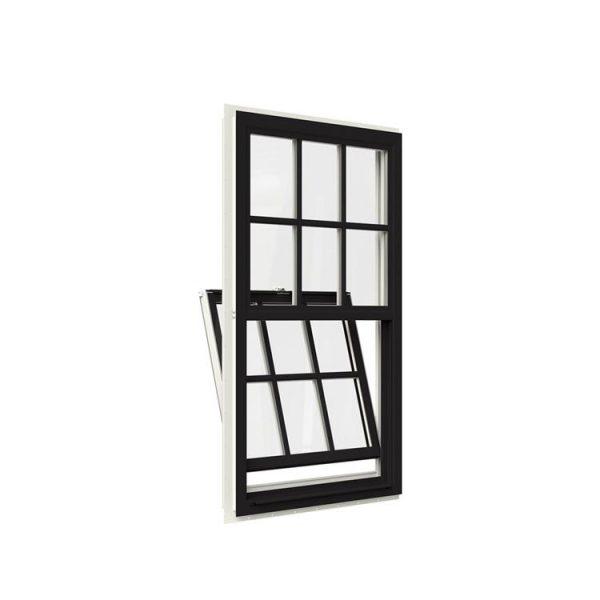 WDMA top hung sliding window Aluminum double single hung Window