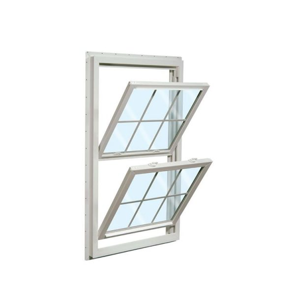 China WDMA Two Panel Aluminium Top Hung Up And Down Double Hung Removable Sliding Windows For Balcony