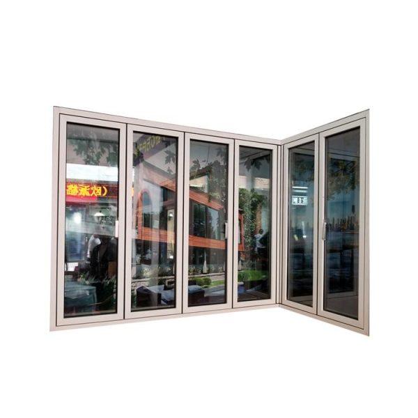 WDMA corner window Aluminum Folding Window