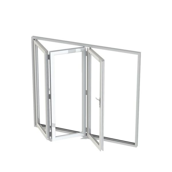 China WDMA corner window Aluminum Folding Window
