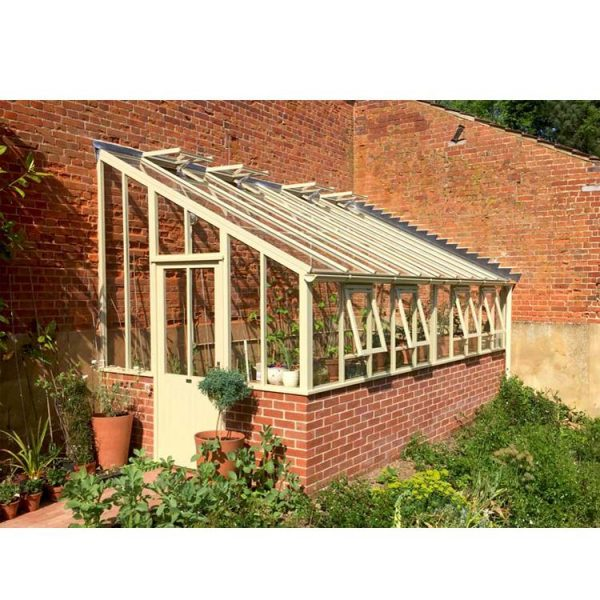 WDMA Utilitarian Free Standing Sun Rooms Green House Garden With Furniture Grey Color