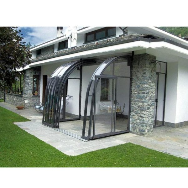 WDMA Wholesale Price Waterproof Retractable Awnings Motorized Swimming Pool Enclosures