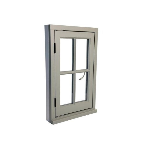 China WDMA Wholesale Single Glass Pane Aluminium Thermal Thermally Broken Casement Window And Door With Internal Blinds And Grill Design Ph