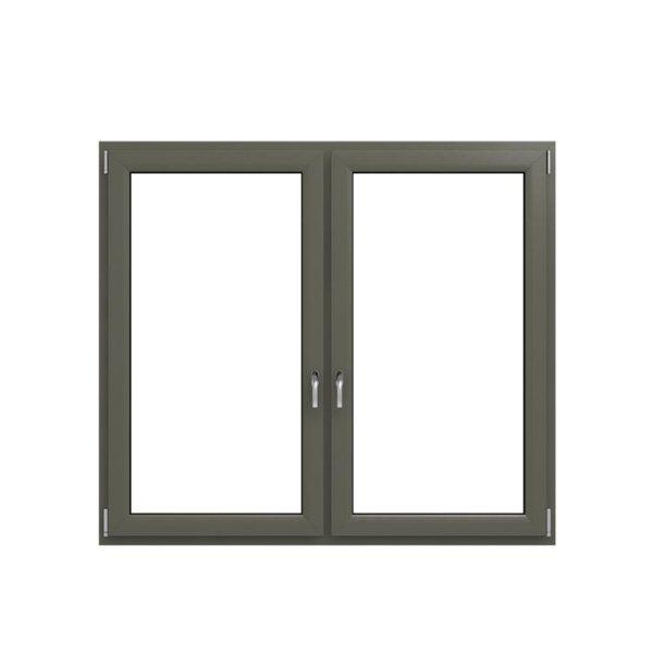 China WDMA aluminium glass window with blinds Aluminum Casement Window