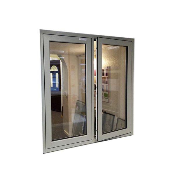 China WDMA Wood And Aluminum Composite Window Outward Opening Window