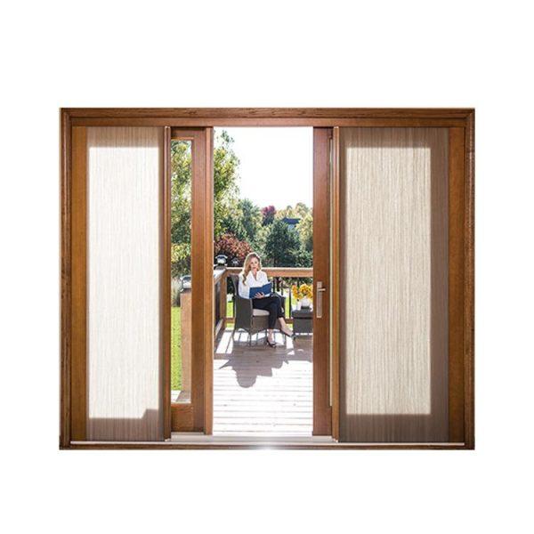 WDMA sliding door system Wooden doors